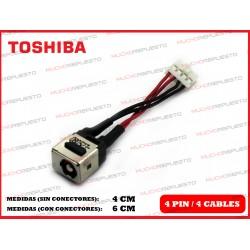 CONECTOR ALIMENTACION TOSHIBA Portege R700 / R705 / R830 / R835