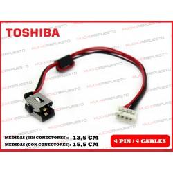 CONECTOR ALIMENTACION TOSHIBA Satellite C55-A/C55D-A/C55T-A/C55DT-A