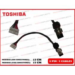 CONECTOR ALIMENTACION TOSHIBA Satellite C75/C75D/C75-A/C75D-A/C75T-A