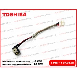 CONECTOR ALIMENTACION TOSHIBA Portege R700 / R705 (Modelo 2)