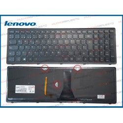 TECLADO LENOVO G500S / G505S / G510S / S500 / S510 (VERSION 2) ILUMINADO