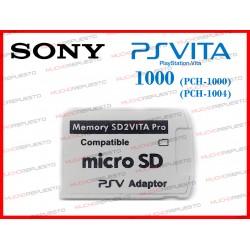 ADAPTADOR TARJETA MEMORIA MICRO SD PSVITA 1000 - 1004