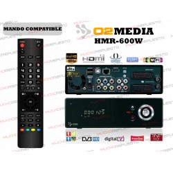 MANDO A DISTANCIA REPRODUCTOR O2MEDIA HMR-600W