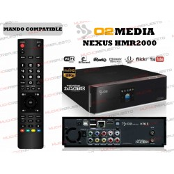 MANDO A DISTANCIA REPRODUCTOR O2MEDIA Nexus HMR2000