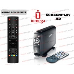 MANDO A DISTANCIA REPRODUCTOR IOMEGA ScreenPlay HD