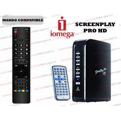 MANDO A DISTANCIA REPRODUCTOR IOMEGA ScreenPlay PRO HD