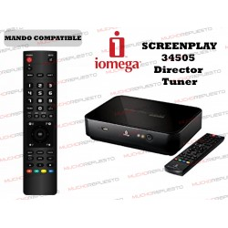 MANDO A DISTANCIA REPRODUCTOR IOMEGA ScreenPlay 34505 Director Tuner