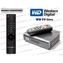MANDO A DISTANCIA REPRODUCTOR WESTERN DIGITAL WD TV Live