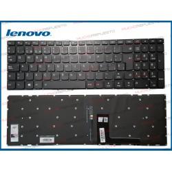 TECLADO LENOVO 510-15IKB (80SV) / 510-15ISK (80SR) (ILUMINADO)