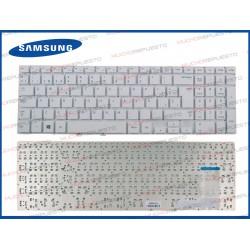 TECLADO SAMSUNG 470R5E / NP470R5E / NP-470R5E BLANCO