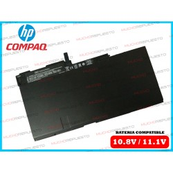 BATERIA HP 10.8V-11.1V EliteBook 750 G1 / 750 G2 / 755 G1 / 755 G2