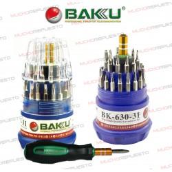 DESTORNILLADOR PRECISION BAKU BK-630-31 (KIT 30 PUNTAS EN 1)