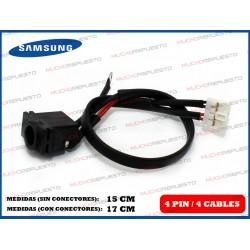 CONECTOR ALIMENTACION SAMSUNG E251/ N130/N135/N140/N510 / NC20 (Mod 1)