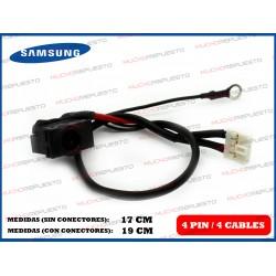 CONECTOR ALIMENTACION SAMSUNG E251/ N130/N135/N140/N510 / NC20 (Mod 2)