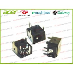 CONECTOR ALIMENTACION Gateway MC73 / MC78 / MD24 / MD73 / MD78 / NV79xx