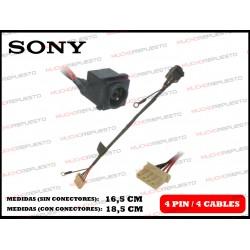 CONECTOR ALIMENTACION SONY SVE14112 / SVE14112xxx Series