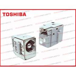CONECTOR ALIMENTACION TOSHIBA L550 / L555 / L555D / L640 / L640D