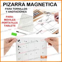 PIZARRA MAGNETICA TORNILLOS REPARACION + MARCADOR + BORRADOR