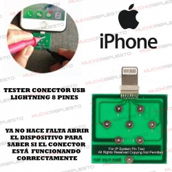 PLACA TESTEO USB LIGHTNING 8 PINES (IPHONE)