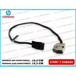 CONECTOR ALIMENTACION HP 14-D / 15-A / 15-D / 15-G / 15-R / Envy 15 / 15-J Series