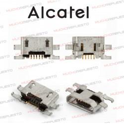 CONECTOR MICRO USB ALCATEL POP C1/POP C2/POP S3/POP S9/Idol S/Idol mini