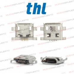 CONECTOR MICRO USB THL W100