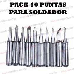 PACK 10 PUNTAS SOLDADOR...