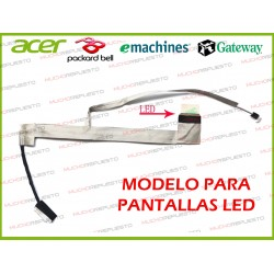 CABLE LCD ACER Aspire 5542 / 5542G / 5738 / 5738G / 5738P /5738Z (LED)
