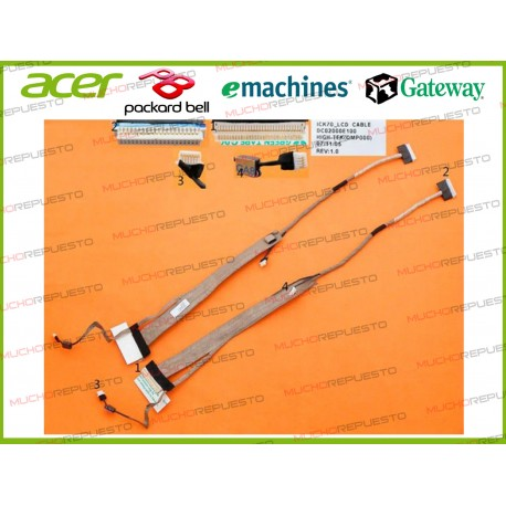 CABLE LCD ACER Aspire 7220 /7315 /7520 /7620 /7720 /7720G /7720Z