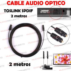 CABLE OPTICO AUDIO DIGITAL...