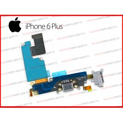 CABLE FLEX CONECTOR DE CARGA +MICROFONO +AURICULAR JACK IPHONE 6 PLUS