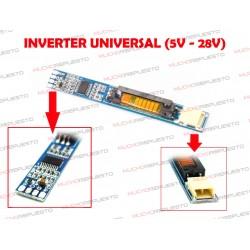 INVERTER UNIVERSAL 5V - 28V (VALIDO PARA TODAS LAS MARCAS)