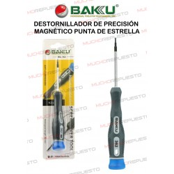 DESTORNILLADOR DE PRECISIÓN MAGNÉTICO BAKU BK-362 (2.0x50 mm) ESTRELLA