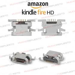 CONECTOR CARGA / DATOS MICRO USB TABLET AMAZON KINDLE FIRE HD SX034QT (7ª Generacion)
