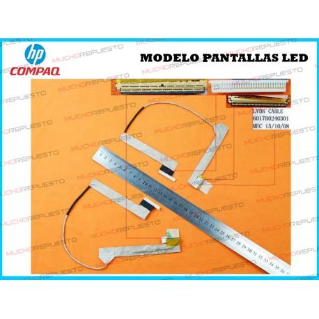 CABLE LCD HP COMPAQ 510 / 511 / 515 / 516 / 610 / 615 (PANTALLAS LED)