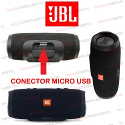 CONECTOR CARGA MICROUSB ALTAVOZ BLUETOOTH JBL CHARGE 3