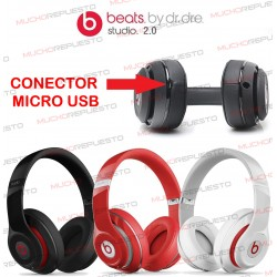 CONECTOR MICRO USB AURICULARES Beats by Dr Dre Studio 2.0