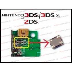 FILTRO / BOBINA DE CARGA EM1 PARA NINTENDO 3DS / 3DS XL / 2DS