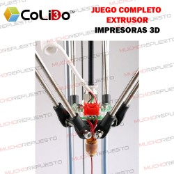 JUEGO COMPLETO EXTRUSOR COLIDO 1.75mm (D1315)