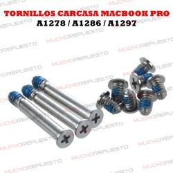TORNILLOS COVER / CARCASA INFERIOR MACBOOK PRO A1278 / A1286 / A1297