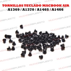 TORNILLOS PARA TECLADO MACBOOK AIR A1369 / A1370 / A1465 / A1466