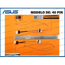 CABLE LCD ASUS A555 /F555 /K555 /R556 /X554 /X555 (Modelo 40PIN)