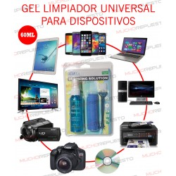 LIMPIADOR PANTALLAS (TV, MONITOR, PORTATIL, TABLET, MOVIL, CDs) 60ML