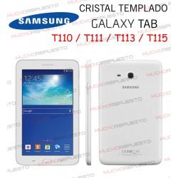 "PROTECTOR CRISTAL TEMPLADO SAMSUNG Galaxy Tab T110-T111-T113-T115 7"""
