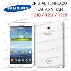 "PROTECTOR CRISTAL TEMPLADO SAMSUNG Galaxy Tab T210-T211-T215 7"""