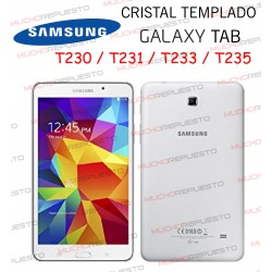"PROTECTOR CRISTAL TEMPLADO SAMSUNG Galaxy Tab T230-T231-T233-T235 7"""
