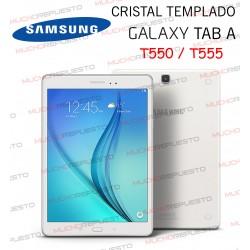 "PROTECTOR CRISTAL TEMPLADO SAMSUNG Galaxy Tab A T550 - T555 9.7"""