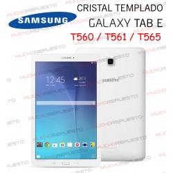 "PROTECTOR CRISTAL TEMPLADO SAMSUNG Galaxy Tab E T560 - T561 - T565 9.6"""
