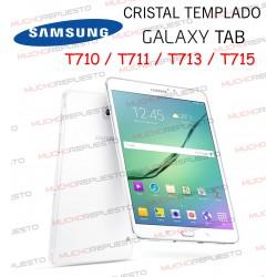 "PROTECTOR CRISTAL TEMPLADO SAMSUNG Galaxy Tab T710-T711-T713-T715 8"""