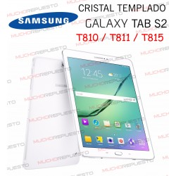 "PROTECTOR CRISTAL TEMPLADO SAMSUNG Galaxy Tab S2 T810-T811-T815 9.7"""